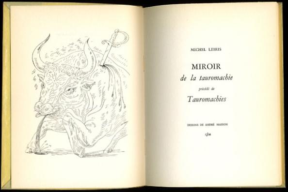 L 39 art de la tauromachie philippe sollers pileface for Miroir de la tauromachie