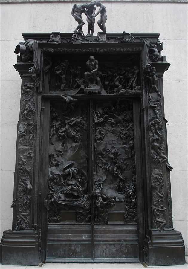 La porte de l 39 enfer d 39 auguste rodin philippe sollers for 7 portes de l enfer